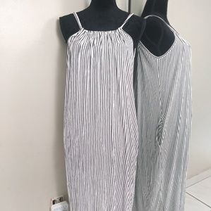 Zara Collection Striped Maxi Dress size Small